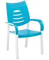 HAPPY Kettler - krzesło kolor turkusowy